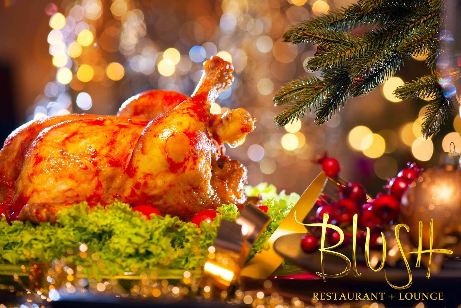 Christmas Dinner in Santa Barbara is best at Blush
