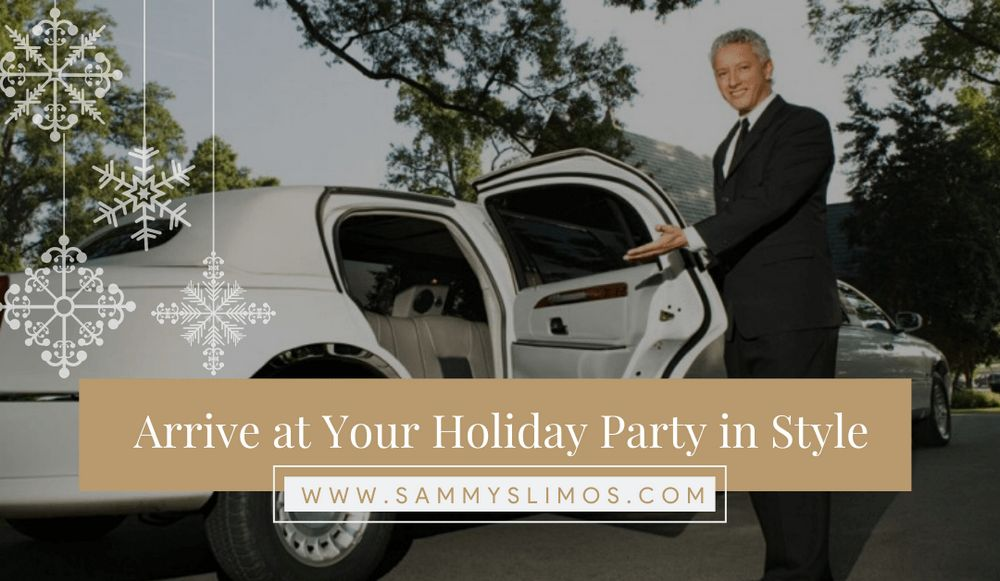 Arrive In Style At Your Holiday Party – Santa Barbara Limo Special